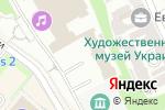 Схема проезда до компании Федерація гімнастики України в