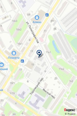 АВАРИЙНО-ДИСПЕТЧЕРСКАЯ СЛУЖБА на карте Великих Лук