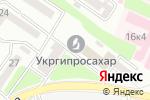 Схема проезда до компании Всеукраинская ассоциация пекарей в