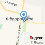Федоровское Сельское Поселение на карте Санкт-Петербурга