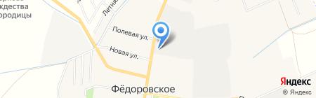 ХарПер на карте Фёдоровского