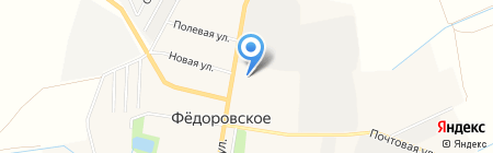 Шалаш Северо-Запад на карте Фёдоровского