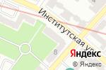 Схема проезда до компании Sofitour в