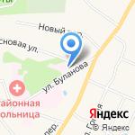 Токсовская районная поликлиника на карте Санкт-Петербурга