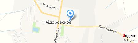 Фокус на карте Фёдоровского
