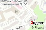 Схема проезда до компании Професійна спілка атестованих працівників органів внутрішніх справ України в
