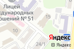 Схема проезда до компании Динамівець в