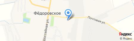 Солнечный квартет-2 на карте Фёдоровского