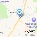 Токсово на карте Санкт-Петербурга