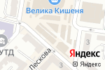 Схема проезда до компании Киоск хозтоваров в