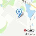 Управление специализированных работ №332 на карте Санкт-Петербурга