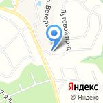 Журавлинное на карте Санкт-Петербурга
