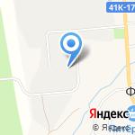 Форносовский Станкостроительный завод на карте Санкт-Петербурга