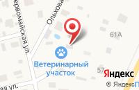 Схема проезда до компании Токсовский ветеринарный участок в Кузьмоловском