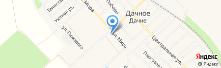 Дачненский учебно-воспитательный комплекс на карте Холодной Балки