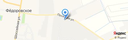 Энергомодуль на карте Фёдоровского
