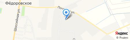 Гагарин Авто на карте Фёдоровского
