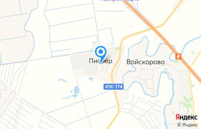Местоположение на карте пункта техосмотра по адресу Ленинградская обл, Тосненский р-н, д Пионер, д 5 стр о