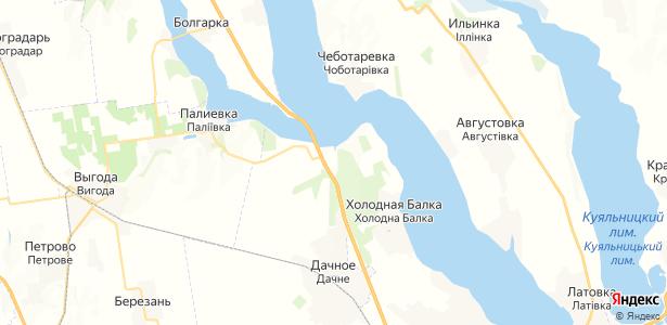 Алтестово на карте
