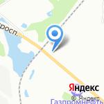 Вест-Трейд+ на карте Санкт-Петербурга