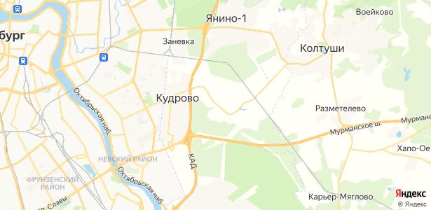 Новосергиевка на карте