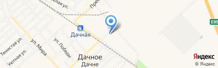 Администрация Дачненского сельсовета на карте Холодной Балки