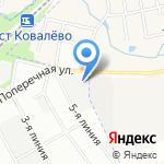 Чистый Город на карте Санкт-Петербурга