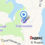 ДЮСШ по горнолыжному спорту на карте Санкт-Петербурга