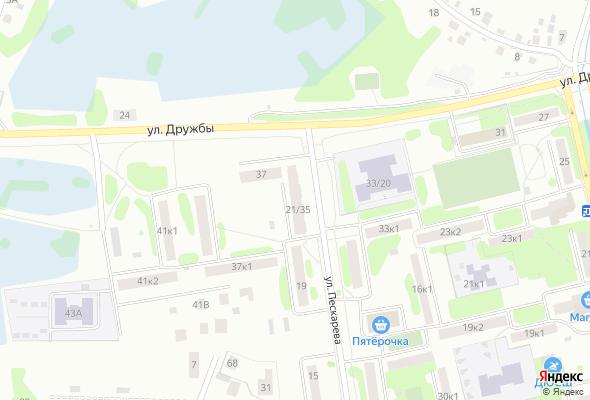 жилой комплекс ул. Пескарева