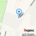 Клин Трейд на карте Санкт-Петербурга