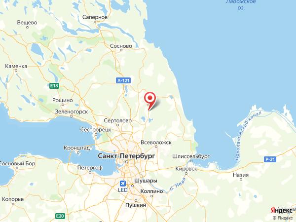 СНТ Энергетик на карте