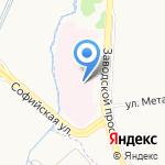 Детская городская больница №22 на карте Санкт-Петербурга