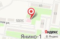 Схема проезда до компании Заневский пост в Янино 1