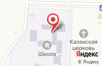 Схема проезда до компании Войскоровская средняя общеобразовательная школа в Войскорово