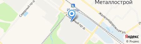 ПСП Санкт-Петербург на карте Санкт-Петербурга