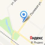 Чайка на карте Санкт-Петербурга