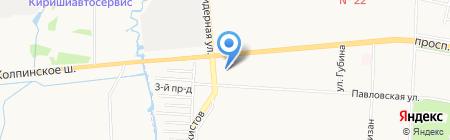 Народная семьЯ на карте Санкт-Петербурга