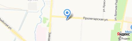 Элегант на карте Санкт-Петербурга