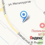 Гимназия №446 на карте Санкт-Петербурга
