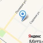 Искра на карте Санкт-Петербурга
