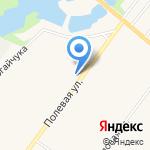 Ремарго на карте Санкт-Петербурга
