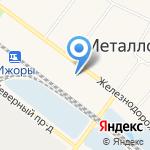 KolesoXL на карте Санкт-Петербурга