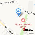 8-ка на карте Санкт-Петербурга