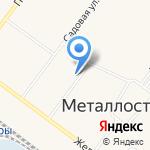 Орленок на карте Санкт-Петербурга