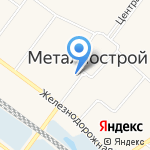 Магазин №9 на карте Санкт-Петербурга