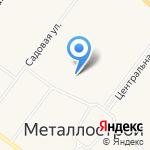 Экономь на карте Санкт-Петербурга