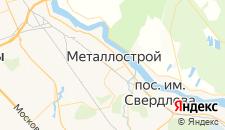 Отели города Металлострой на карте