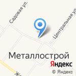 Магазин бытовой химии и косметики на карте Санкт-Петербурга