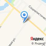 Арина на карте Санкт-Петербурга