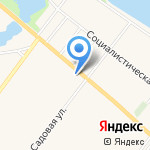 Клёвая fish`ка на карте Санкт-Петербурга